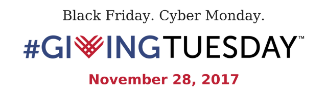 Black Friday. Cyber Monday. #GivingTuesday